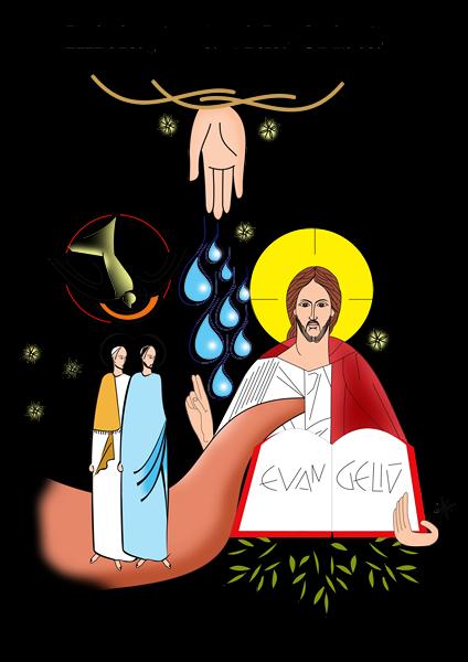 Desenho-sobre-iniciação-à-vida-cristã