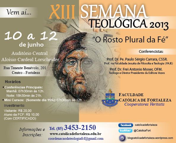XIII Semana Teológica da Faculdade Católica de Fortaleza
