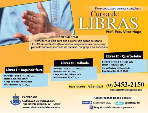 LIBRAS -  Prof. Vitor
