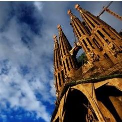 Baslica Sagrada Famlia Barcelona 245x245