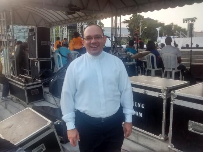 Padre Rafhael Maciel, Reitor do Seminário Propedêutico.