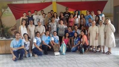 Membros e assessores da Província de Fortaleza da JMV reunidos na XV Assembleia da associação