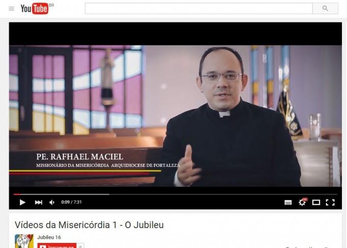 Padre Rafhael Maciel - frame - divulgacao