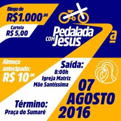 pedalada com jesus
