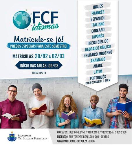 faculdade católica de Fortaleza - FCF